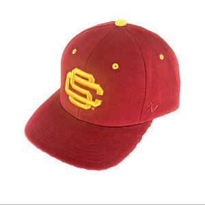 Zephyr Authentic USC Trojans Red, Gold Hat